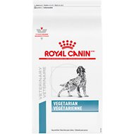 Royal Canin Veterinary Diet Vegetarian Formula Dry Dog Food, 17.6-lb bag