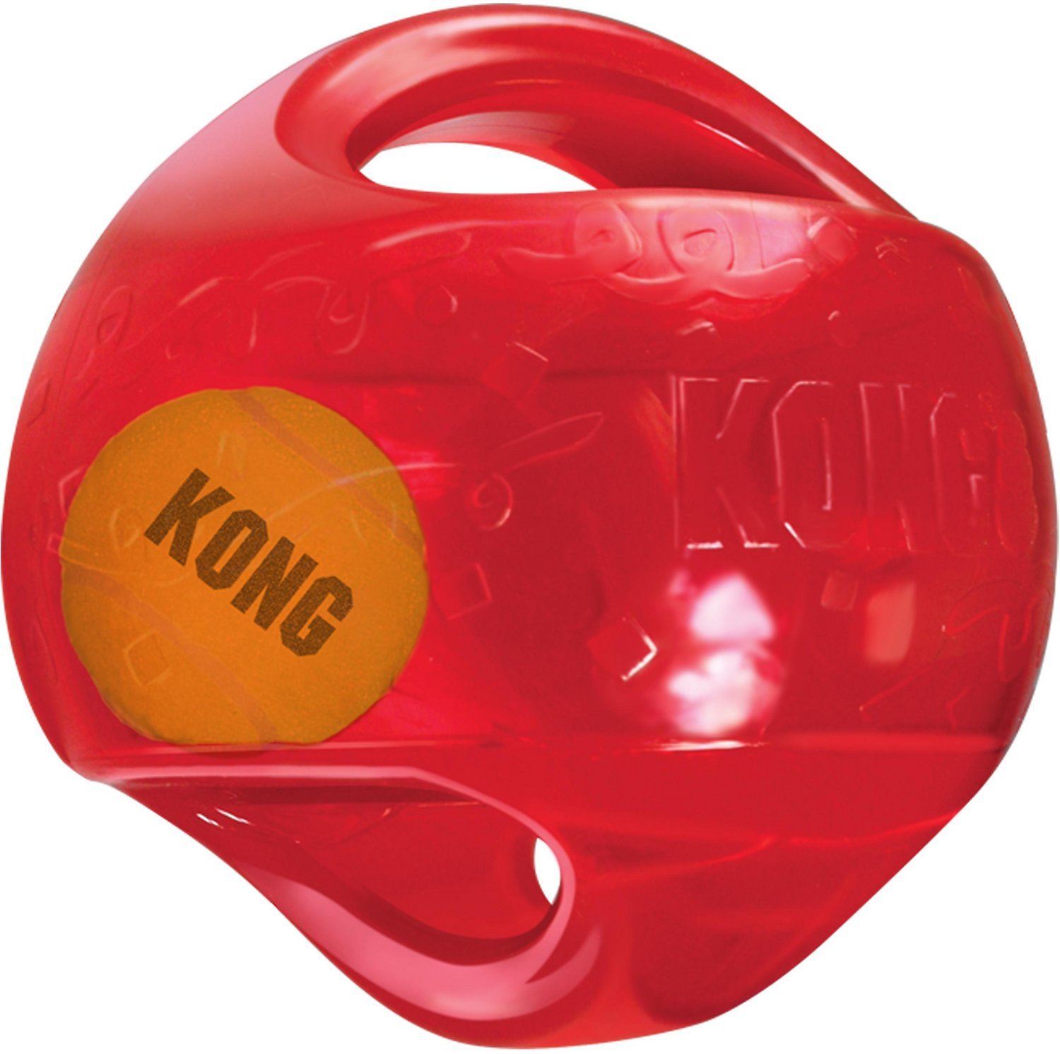 Dog Toys Balls : Kong jumbler ball dog toy color varies large