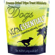 Vital Essentials Tripe Nibblets Freeze-Dried Dog Treats, 1-lb bag