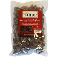 Nature's Logic Beef Lung Dog Treats, 1-lb bag