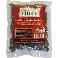 Nature's Logic Beef Liver Dog Treats, 1-lb bag