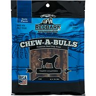 Redbarn Chew-A-Bulls Beef Flavor Dog Treats, 12-oz bag