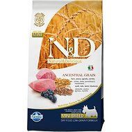 Farmina Natural & Delicious Lamb & Ancestral Low-Grain Mini Breed Formula Dry Dog Food, 5.5-lb bag