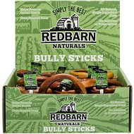 Redbarn Naturals Bully Rings Dog Treats, Small, case of 35