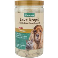 NaturVet Love Drops for Dogs & Cats, 200-count