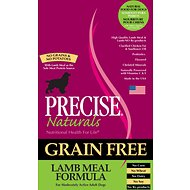 Precise Naturals Grain-Free Lamb Meal Formula Adult Dry Dog Food, 28-lb bag