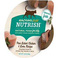 Rachael Ray Nutrish Paw Lickin' Chicken & Liver Recipe Natural Grain-Free Wet Cat Food, 2.8-oz, case of 24