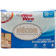 "Wee-Wee for Puppy Tile Decor Pads, 22"" x 23"", 50 count"