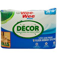 Wee-Wee for Puppy Grass Decor Pads, 22