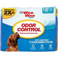 Wee-Wee Odor Control Pads for Dogs, 22