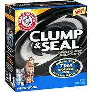 Arm & Hammer Litter Clump & Seal Fresh Home Litter, 28-lb box