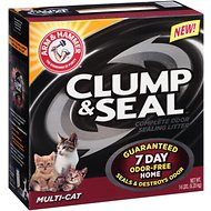 Arm & Hammer Litter Clump & Seal Multi-Cat Litter, 14-lb box
