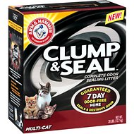 Arm & Hammer Litter Clump & Seal Multi-Cat Litter, 28-lb box
