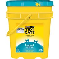 Tidy Cats Scoop Instant Action Immediate Odor Control Cat Litter, 35-lb pail