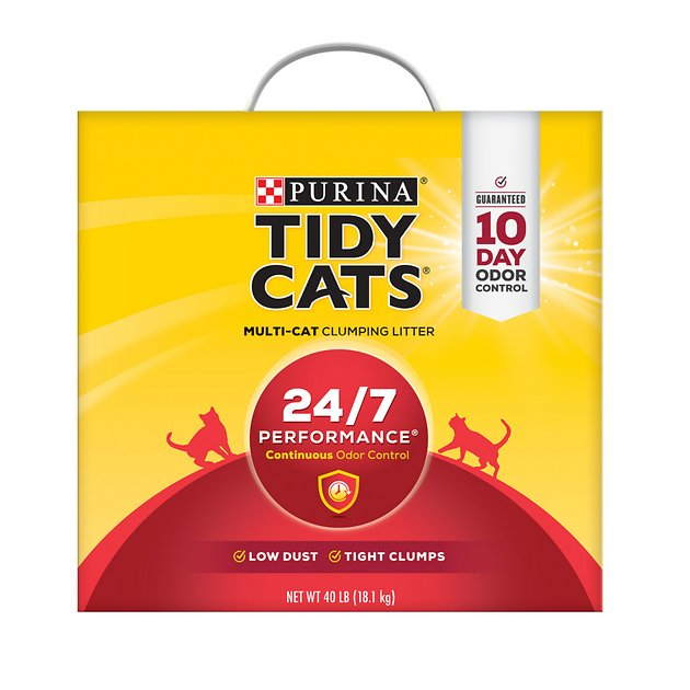 tidy cat litter tidy cats scoop 24 7 performance continuous odor 10647