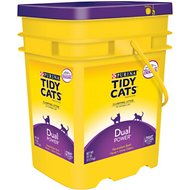 Tidy Cats Dual Power Scoop Cat Litter, 35-lb pail