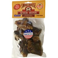 Smokehouse USA Knee Bones Dog Treats, 5 pack