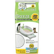 Tidy Cats Breeze Cat Pads, 10 count