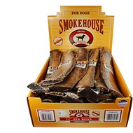 "Smokehouse USA 12"" Rib Bone Dog Treats, 24 count"