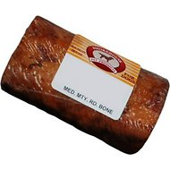 "Smokehouse USA 3"" Round Marrow Bone Dog Treats, 3-in chew, 1 count"