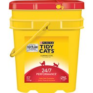 Tidy Cats Scoop 24/7 Performance Continuous Odor Control Cat Litter, 35-lb pail