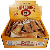 "Smokehouse USA 6.5"" Prime Slices Dog Treats, Case of 40"