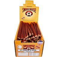 Smokehouse USA Chick'n Stix Dog Treats, Case of 60