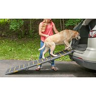 Pet Gear Reflective Extra Wide Pet Ramp, Tri-fold
