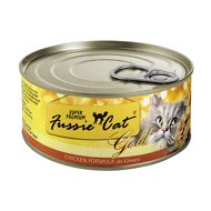 Fussie Cat Super Premium Chicken Formula in Gravy Grain-Free Canned Cat Food, 2.82-oz, case of 24