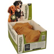 WHIMZEES Veggie Ears Dental Dog Treats, case of 18