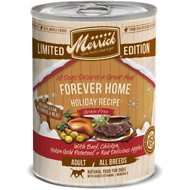Merrick Seasonal Grain-Free Forever Home Holiday Recipe Canned Dog Food, 12.7-oz, case of 12