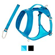 Kurgo Go-Tech Adventure Dog Harness with Seatbelt Loop, Blue, Large