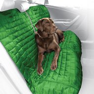 Kurgo Loft Car Bench Dog Seat Cover, Green