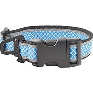 Kurgo Reflect & Protect Dog Collar, Blue, Medium