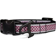 Kurgo Reflect & Protect Dog Collar, Raspberry, Medium