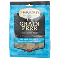 Darford Breath Beaters Grain-Free Dog Treats, 12-oz bag