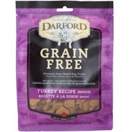 Darford Turkey Recipe Grain-Free Dog Treats, 12-oz bag