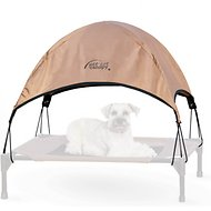 K&H Pet Products Pet Cot Canopy, Tan, Medium