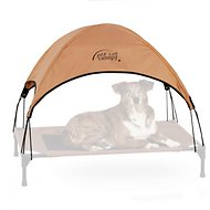 K&H Pet Products Pet Cot Canopy (Cot Sold Separately), Tan, Large