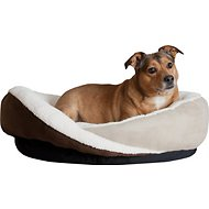 K&H Pet Products Huggy Nest Pet Bed, Tan/Caramel, Small