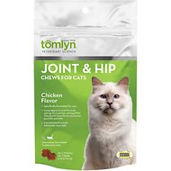 Tomlyn Joint & Hip Chews with MSM and Glucosamine for Cats, 30 count
