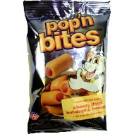 Pop'n Bites Cheezy Dogs Dog Treats, 3.5-oz bag