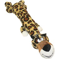 Multipet Dawdler Dudes Dog Toy, Leopard