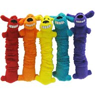 Multipet Loofa Bungee Scrunchy Dog Toy