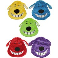 Multipet Loofa Dog Head Dog Toy