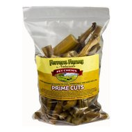 Ferrera Farms Bully Stick Tips Dog Treats, 1-lb bag