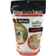 Prime Taste Treats Real Beef Liver Freeze-Dried Dog Treats, 8.8-oz bag