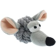 Multipet Rope Head Dog Toy, Mouse
