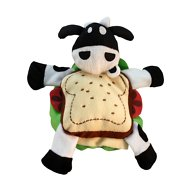 Multipet Silly Sandwich Dog Toy, Roast Beef