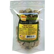 Ferrera Farms Prime Cuts Freeze-Dried Beef Liver Dog Treats, 4-oz bag
